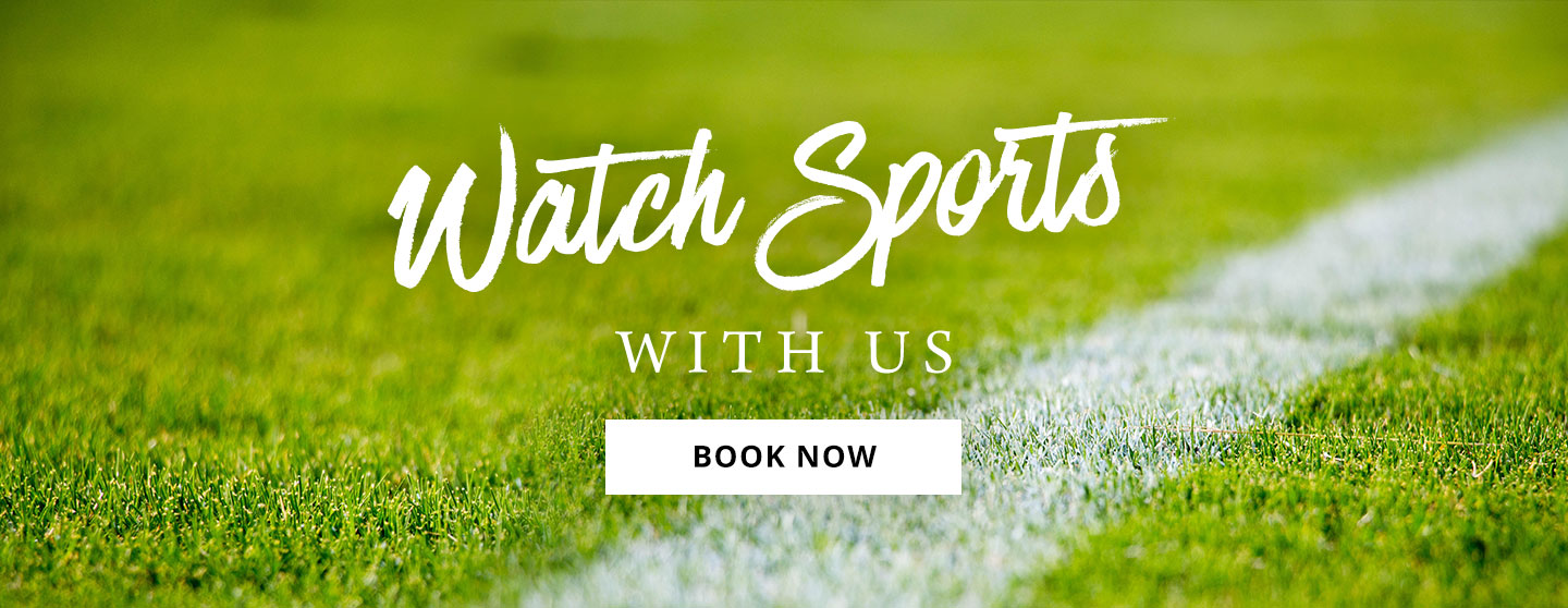 Watch Sport at The Fox & Hounds