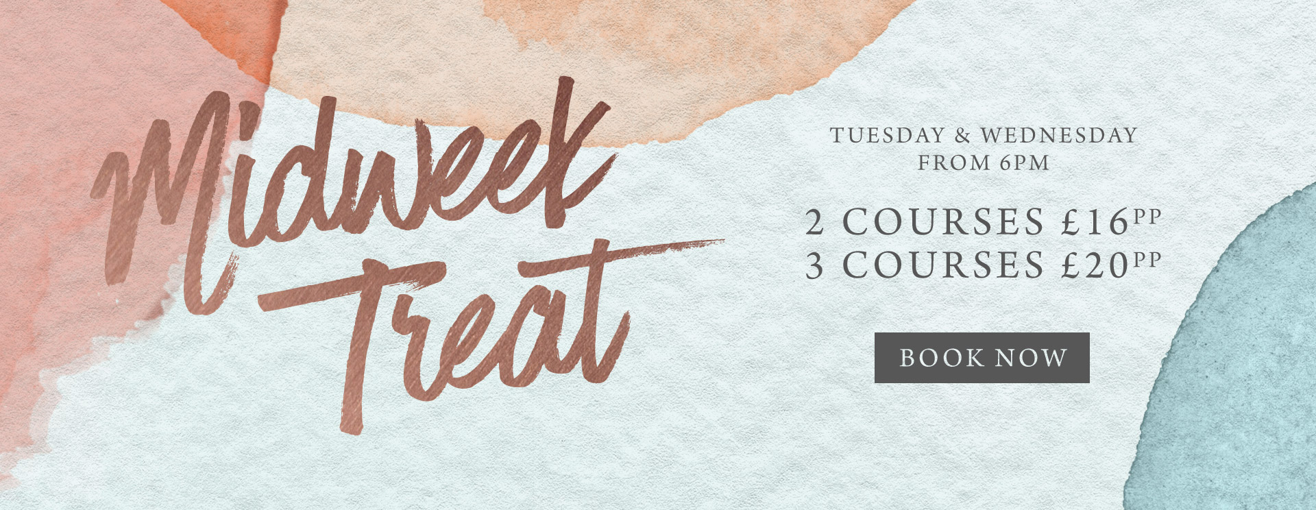 Midweek treat at The Fox & Hounds - Book now