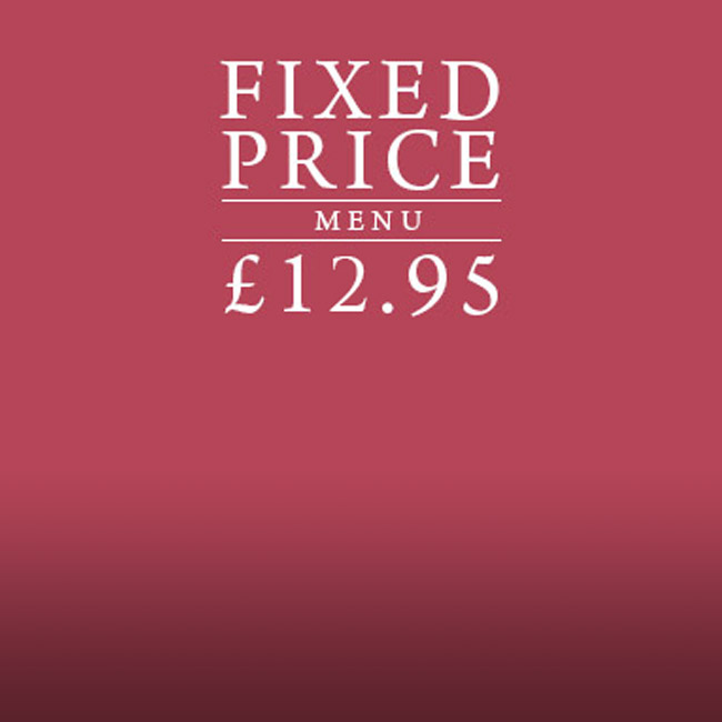 Fixed Price Menu at The Fox & Hounds