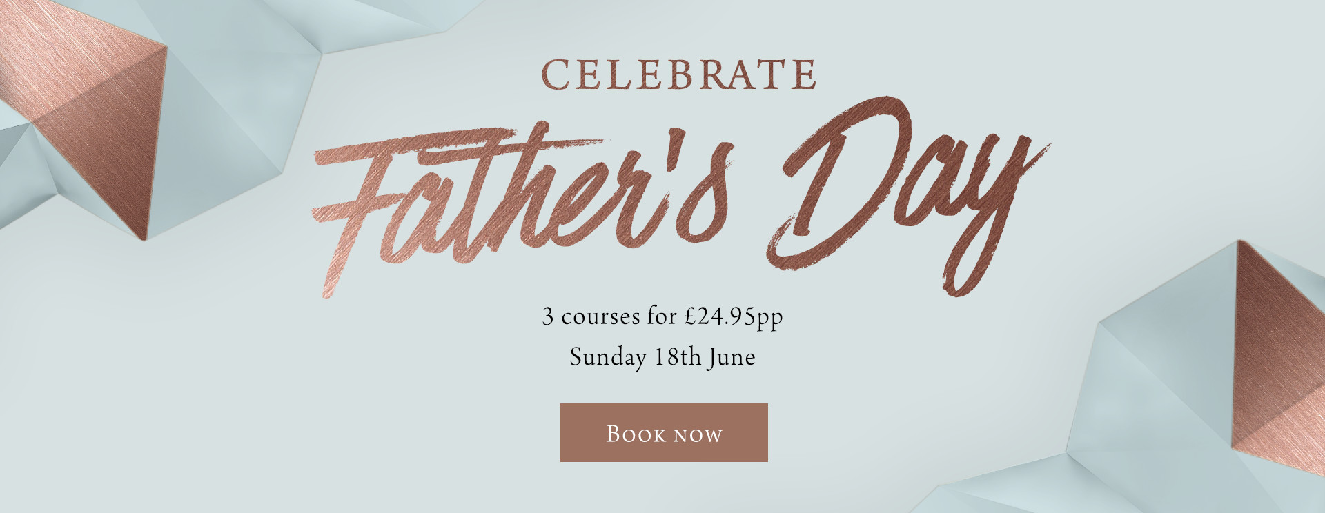 Father's Day at The Fox & Hounds - Book now